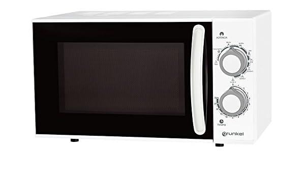 Grunkel- Microondas con grill blanco de 25L de capacidad y ...
