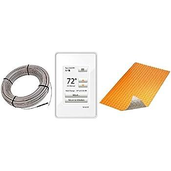 Schluter Ditra Heat E Radiant Floor Heating Kit Touch