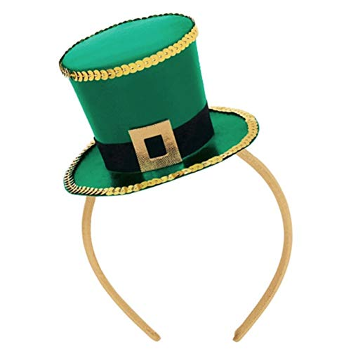 Cawbing St Patrick's Day Green Headband (Sequin Gift Hat) ()
