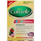 Kids! Chewables Probiotic (Berry Flavor) 30 Count, Health Care Stuffs