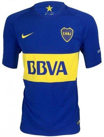 Nike Mens Boca Juniors Home Stadium Jersey [Game Royal] (M) ()