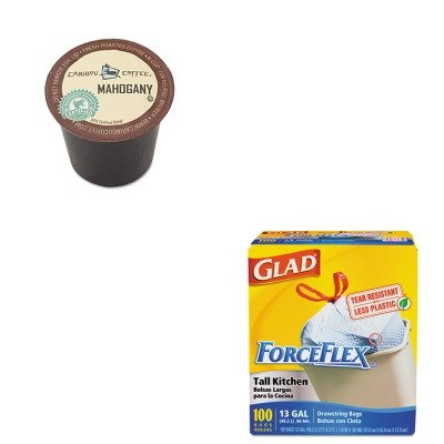 kitcox70427gmt6990-value-kit-green-mountain-coffee-roasters-mahogany-coffee-k-cups-gmt6990-and-glad-