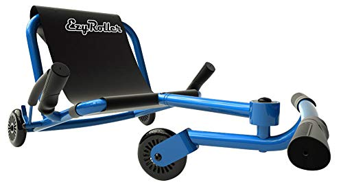 EzyRoller Ride On Toy - New Twist On A Classic Scooter - Blue -