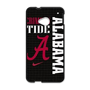Happy Alabama Crimson Tide Cell Phone Case for HTC One M7