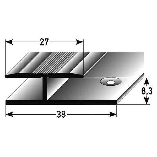 3 metros - Perfil de transición / Tapajuntas laminado, 8,3 ...
