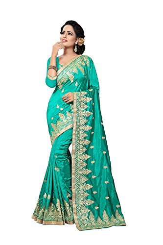 Saree Nozze Di Etnico Di Verde Seta Arte Rama Usura Indian Donne Caramelle Design Viti In Zoya Festa tA0qHwxAg