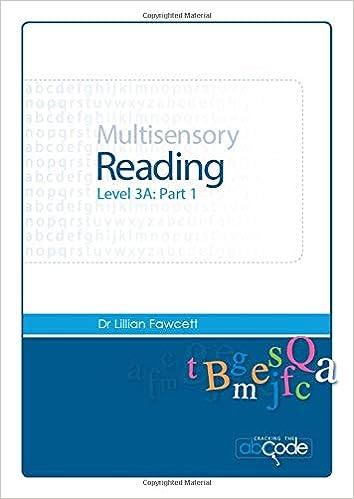 Multisensory Reading Level 3A Part 1 ... - Amazon.com