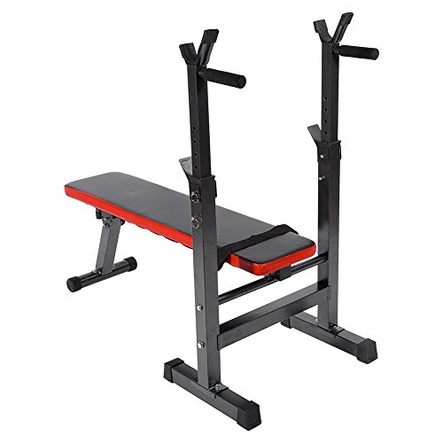 Flat Weight Bench,Adjustable Weight Training and Abs Exercises Home Fitness Bench for Weight Lifting Sit Up Bench Strength Training by Zerone