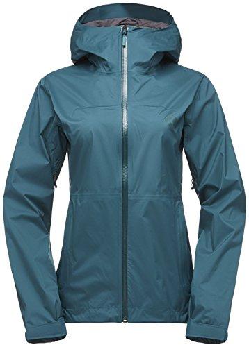 Black Diamond Stormline Stretch Rain Shell Jacket - Women's Spruce - Jacket Shell Stretch