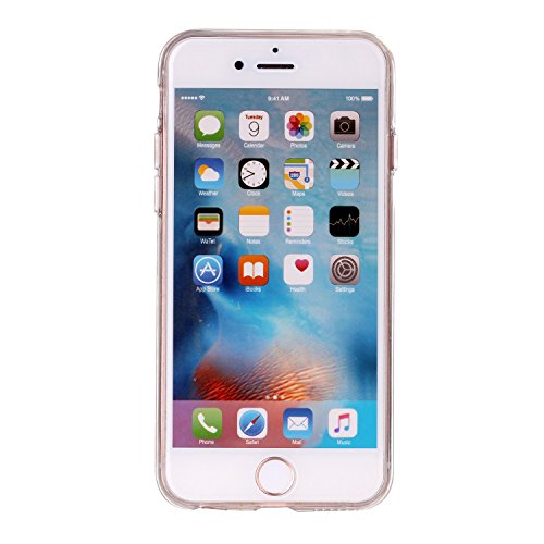 "MOONCASE iPhone 6 / iPhone 6S 4.7"" TPU Silikon Hülle,[Marmor Design Pattern] Handyhülle Schale Etui Protective Case Cover Braun"
