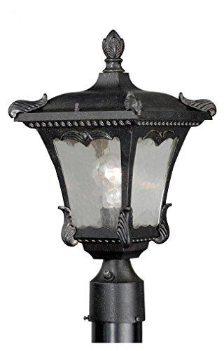 3 Castile Light (Vaxcel One Light Outdoor Post T0158 One Light Outdoor Post)