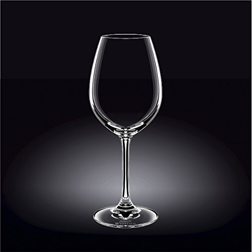 Wilmax 888016 520 ml Wine Glass Set of 644; Pack of 4 by Wilmax