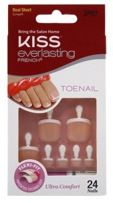 Kiss Everlasting French Toenail Kit - Limitless (3 Pack) by Kiss by Kiss