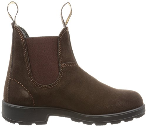 Blundstone Unisex Brown Marrone Chelsea 6 Brown Suede UK Dark Suede Marrone Stivali Classic 40 EU 5 Iwrq0TI