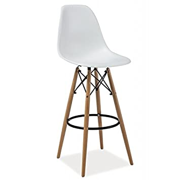 tabouret de bar scandinave