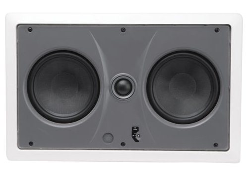 MTX CT2525LCR Wall Speaker 5 1/4 Inch Glass Fiber Woofers, 25 mm Soft Dome Pivoting Tweeters by MTX