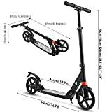 WeSkate Scooter for Adults/Teens, Big Wheels