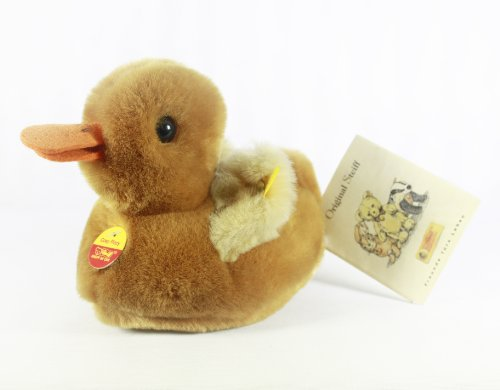 (Steiff Duck Miniature Light Brown Made in Germany 2520)