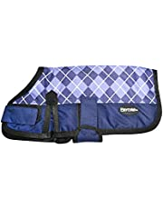 Playmate Dog Coat Purple Check, 40cm