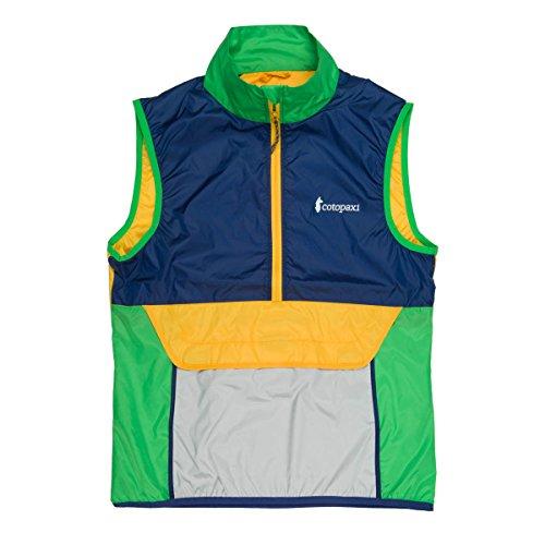 (Cotopaxi Teca Vest - Packable Half Zip Windbreaker - Unisex)