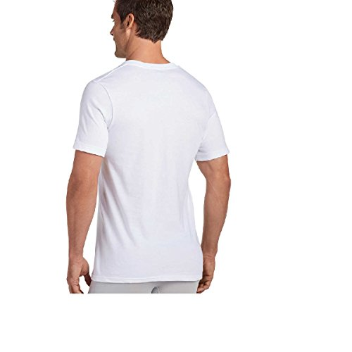 e13d0d671cf5 Jockey Mens V-Neck T-Shirts Classic Tag Free Cotton - Stay New - Import It  All