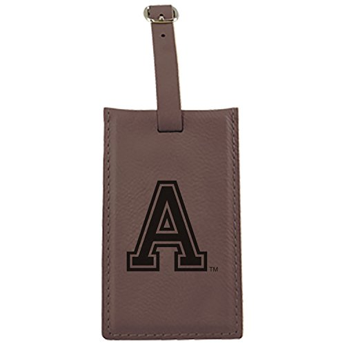United States Military Academy -Leatherette Luggage Tag-Brown by LXG, Inc.