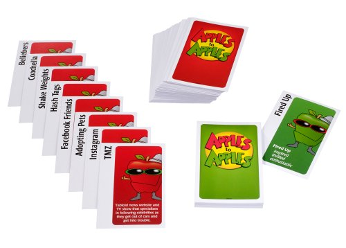 Amazon Mattel Apples To Apples Trendy Snack Pack Expansion Pack
