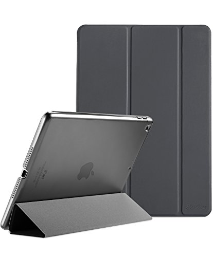 ProCase iPad 9.7 Case 2018 iPad 6th Generation Case / 2017 iPad 5th Generation Case - Ultra Slim Lightweight Stand Case with Translucent Frosted Back Smart Cover for Apple iPad - Apple Ipad Smart Case