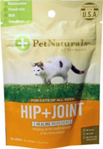 Pet Naturals of Vermont Hip & Joint Chews Cat, 0.35 Pounds