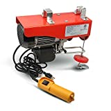 Electric Hoist 120V/60HZ, Lifting Weight: 880lbs (400kg) w/ 20 FT Remote Control