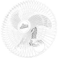 Venti-Delta Oscilante de Parede Premium 60 cm, Bivolt – Grande Aço, 736423, 170 W, Branco