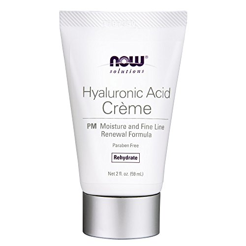 NOW Solutions Hyaluronic Acid Crème,2-Ounce