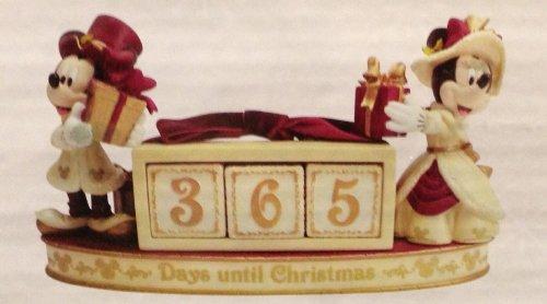 Victorian Christmas Figurine - Disney Parks Mickey Minnie Mouse Victorian Christmas Countdown Calendar Figurine