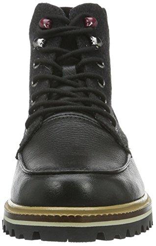 Lacoste Montbard Boot 316 2, Zapatillas de Estar por Casa para Hombre Negro - Schwarz (Blk 024)