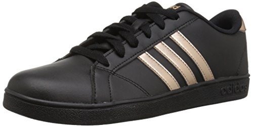 adidas Originals Unisex-Kids Baseline Sneaker, Black/Copper Metallic/Black, 12K M US Little Kid