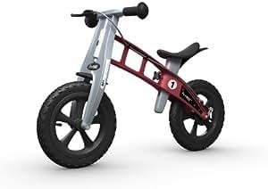 FirstBIKE Cross Bike with Brake, Red