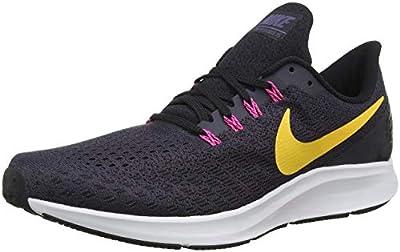 Nike Men's Air Zoom Pegasus Running Shoe, Gridiron/Laser Orange/Black/Pink Blast, 7