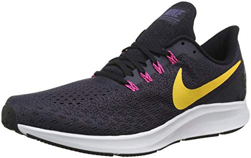 Zoom Nike Air Pegasus 35 Hommes Chaussures De Course, Multicolore (gridiron / Orange Explosion Noir Rose Laser 008)