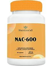 NAC-600 N-ACETIL L-CISTEÍNA - NUTRITIONALL (60 CÁPSULAS)