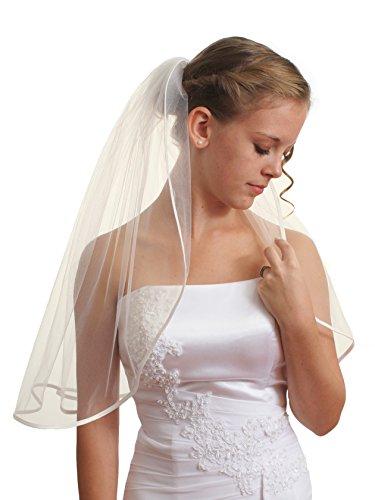 sparklycrystal-1t-1-tier-1-4-ribbon-edge-bridal-wedding-veil-ivory-shoulder-length-25-vc5b1