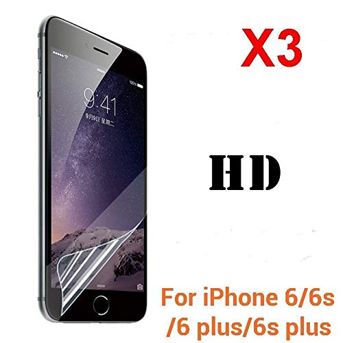 2Pcs (Front +Back) Clear HD Screen Protector Film Foil Saver for iPhone 6/S Plus