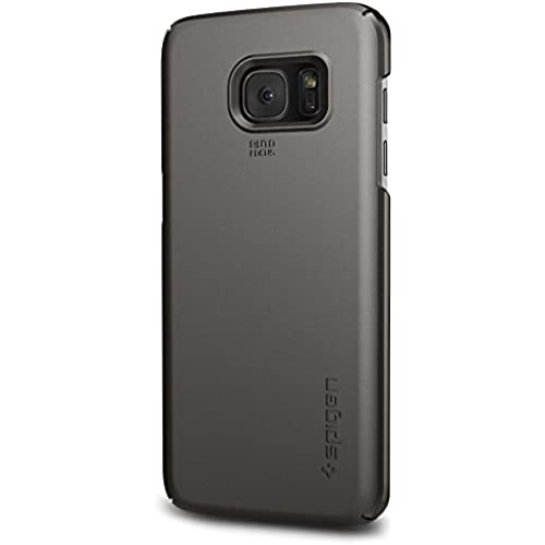 Spigen Thin Fit Galaxy S7 Edge Case with Premium Matte Finish Coating for Samsung Galaxy S7 Edge 2016 - Gunmetal Sales