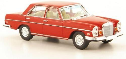 rot US-Version W108 Modellauto Mercedes 280 SE 4.5 Brekina Starmada 1:87 Fertigmodell