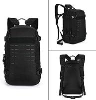 Huntvp 40L Casual Backpack Tactical Military Rucksack Assault Pack Student School Bag for Men Women