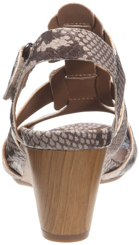 Rumba Clarks femme Sandales Taupe Popple fHqw86