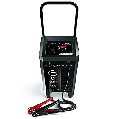 Schumacher SC1353 6/40/200A 6/12V Wheeled Battery Charger and Starter