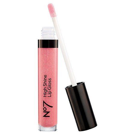 - No7 No 7 High Shine Lip Gloss Pink Slip .27 Ounce Full Size Sealed