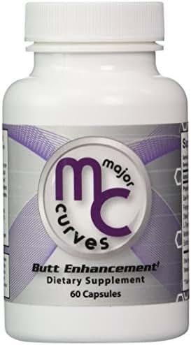 Major Curves Butt Enhancement and Enlargement Capsules (1 Bottle)