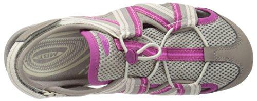 MBT , Sandales pour femme beige grau/rosa