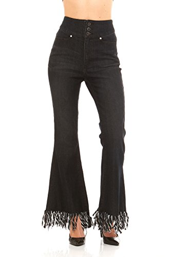 high-waist-frayed-bell-bottom-black-denim-jeans-by-red-jeans